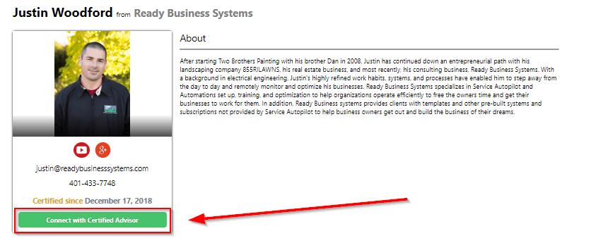 how to setup a service autopilot account