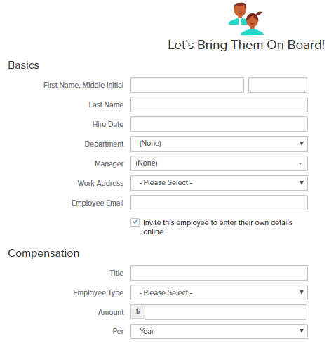 Gusto add new employee form gusto payroll review