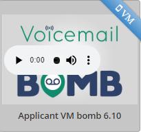 Sendjim voicemail bomb