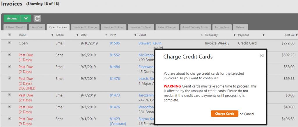 Service Autopilot Credit Card Processing