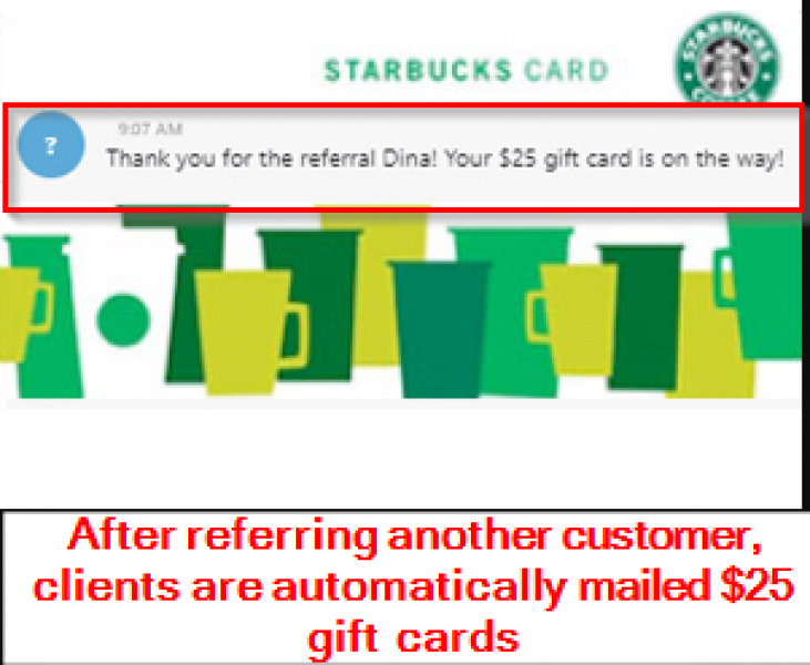 Gift Cards for Referrals