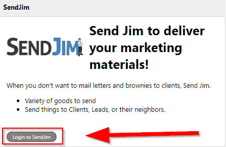 login to Sendjim