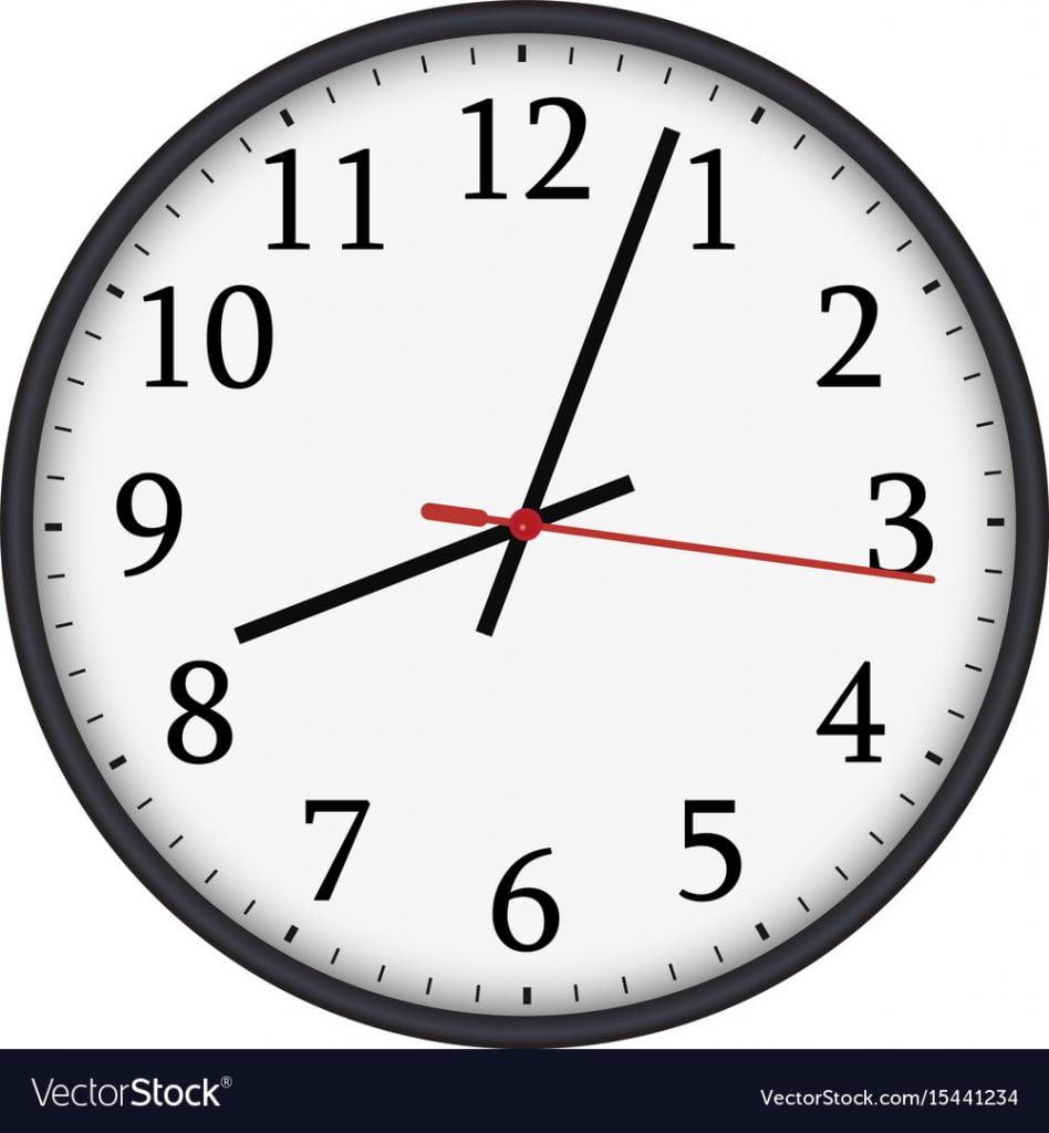 service autopilot wall clock