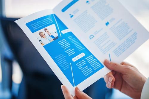 4 Helpful Brochure Content Tips